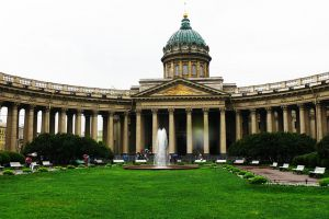 Kazan Cathedral - St. Petersburg, Russia