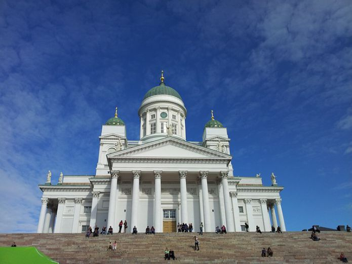 Cathedral of St. Nicholas, Helsinki, Finland