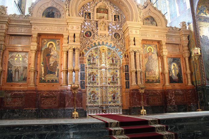 Church of the Resurrection of Christ, Savior On Blood - Altar