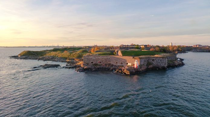 The fortress of Suomenlinna, Finland