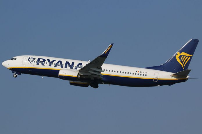 Aircraft airline Ryanair