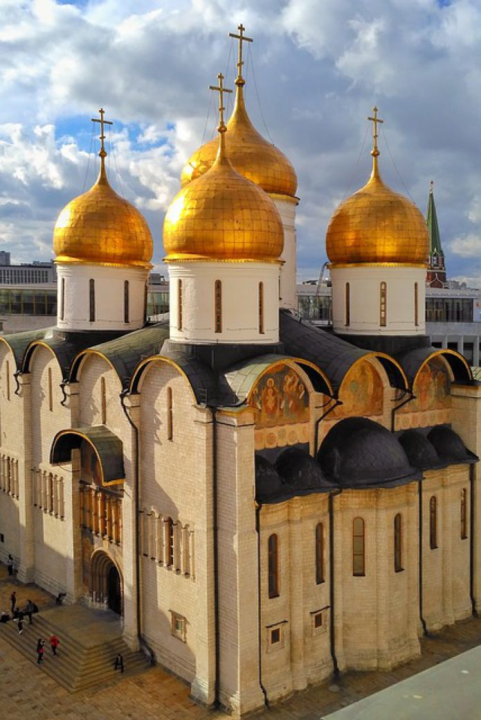 Assumption Cathedral - Kremlin, Moscow, Russia