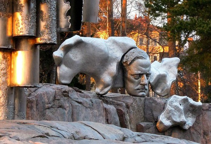 Monument to the composer Jan Sibelius, Helsinki, Finland