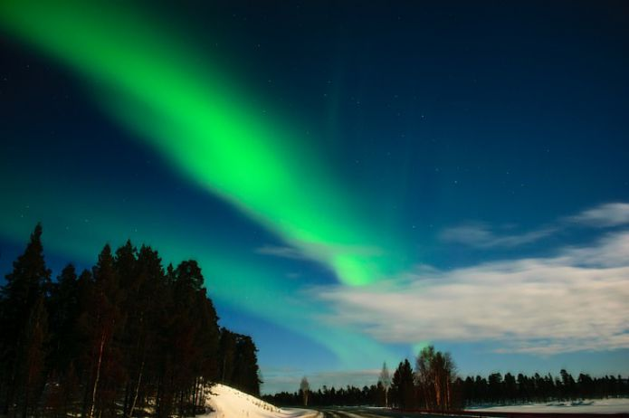 Lapland, Finland, the Northern Lights