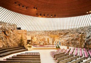 Church in the Rock -Tempeliaukio, Helsinki, Finland
