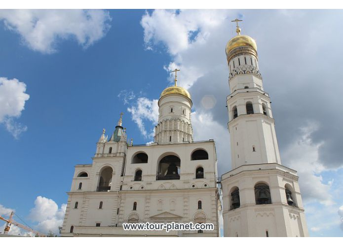 Ivan the Great Belltower - Moscow Kremlin, Russia