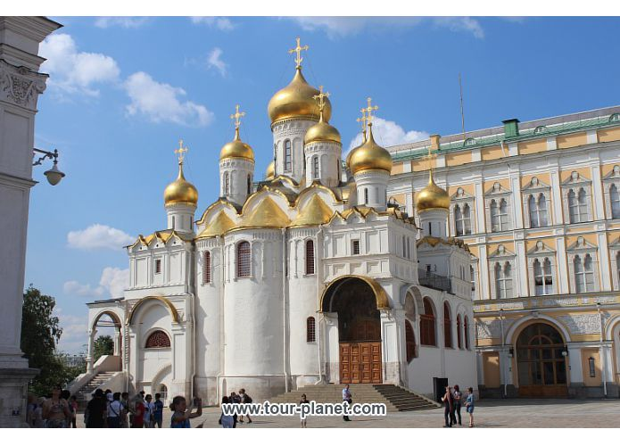the Blagoveshenskiy Cathedral - Moscow, Russia
