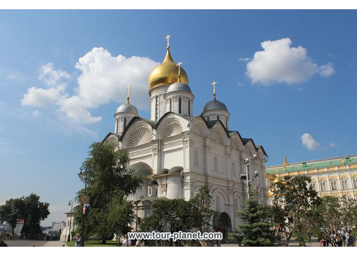 The Archangel Cathedral - Moscow Kremlin, Russia